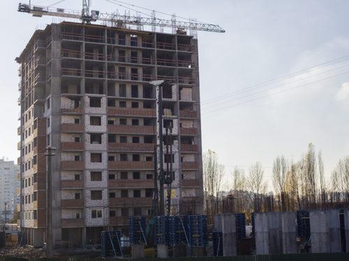 """Дневник строительства ЖК """"Лебединый"""" от 17.11.2017"""