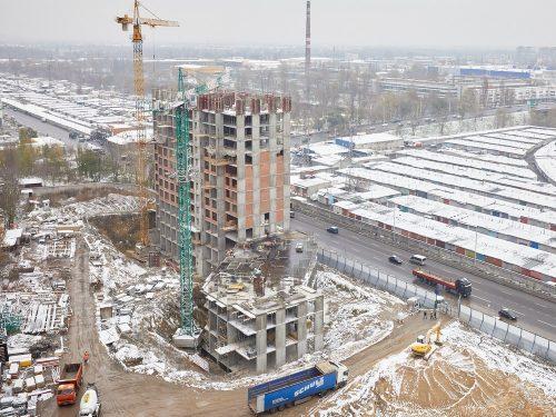 Щоденник будівництва ЖК «POLARIS» від 23.11.2020