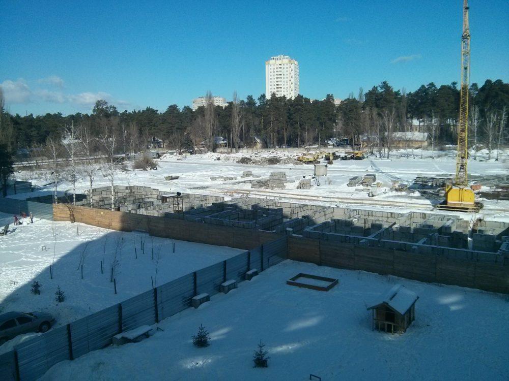 Ход строительства ЖК Вудстория 16.02.2017 (1)