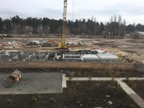Щоденник будівництва ЖК «Вудсторія» 01.03.2017