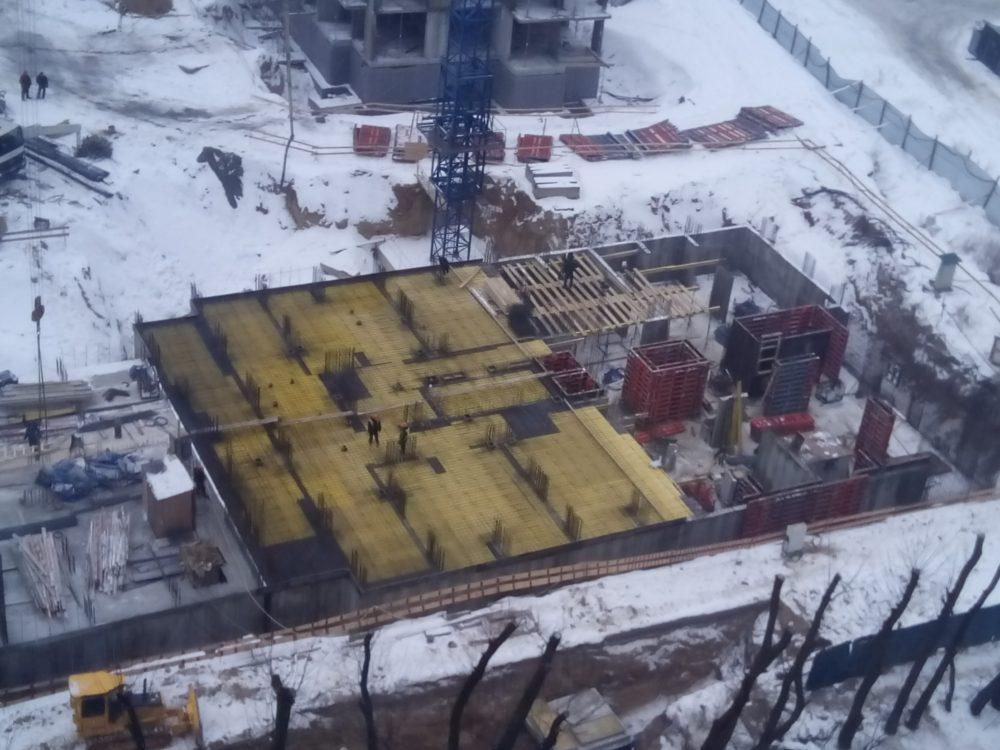 Ход строительства ЖК 5 квартал 02.02.2017 (2)