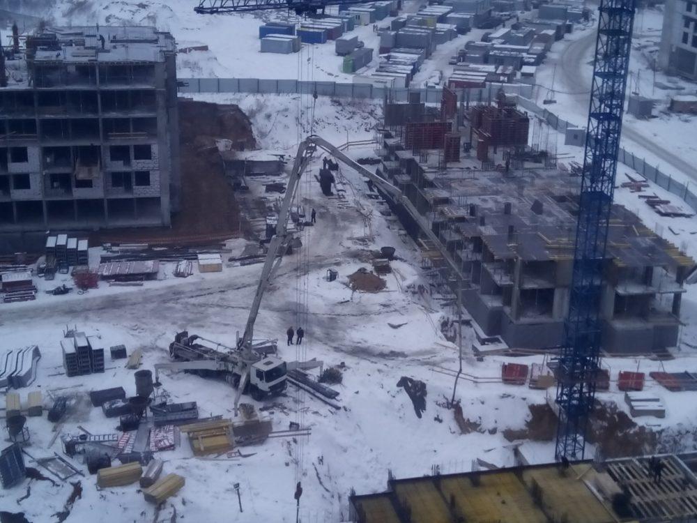 Ход строительства ЖК 5 квартал 02.02.2017 (3)