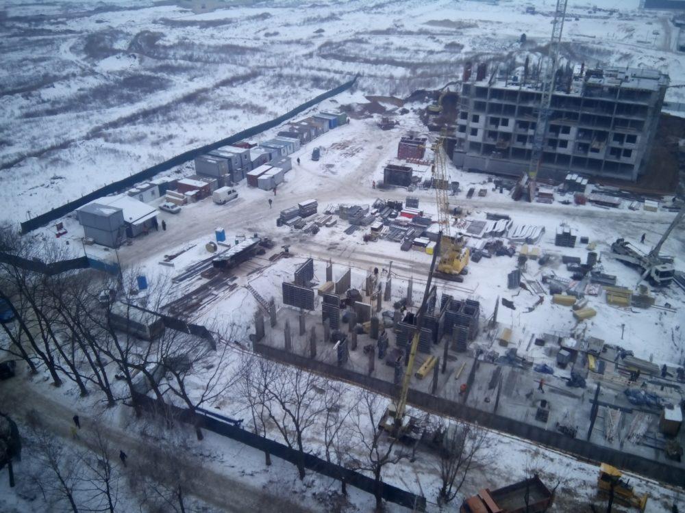 Ход строительства ЖК 5 квартал 02.02.2017 (4)