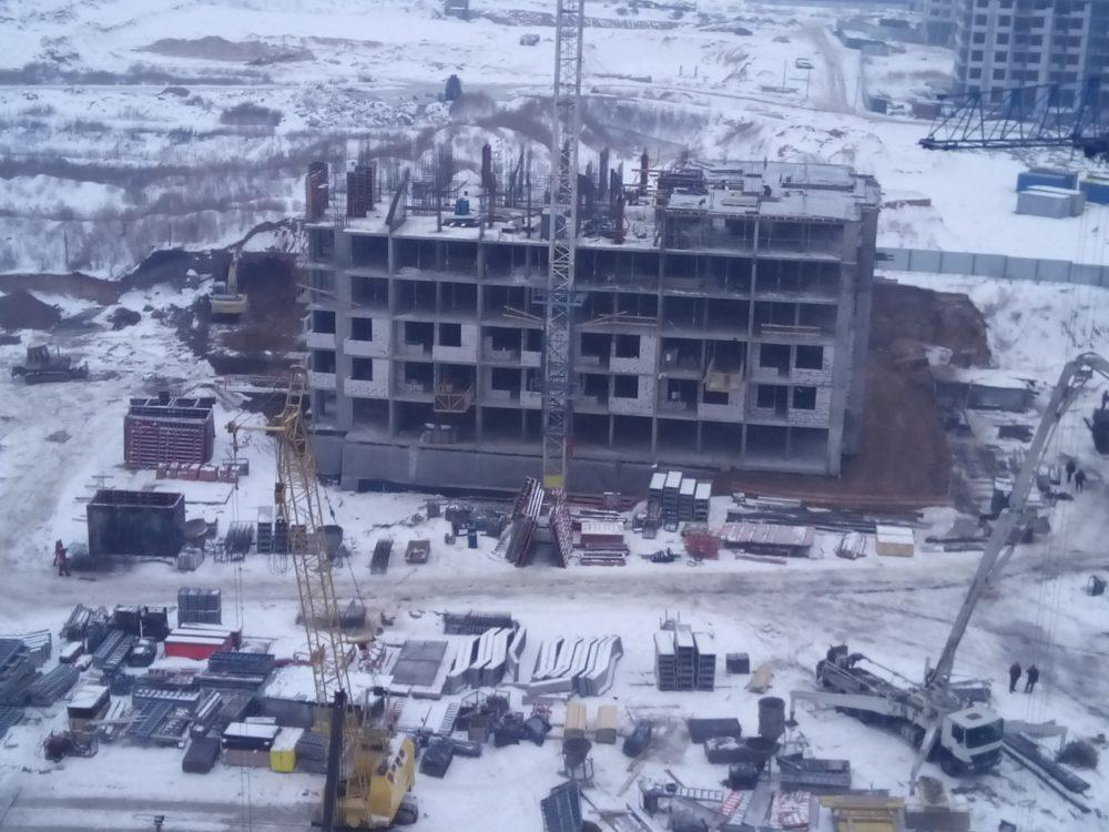 Ход строительства ЖК 5 квартал 02.02.2017 (6)