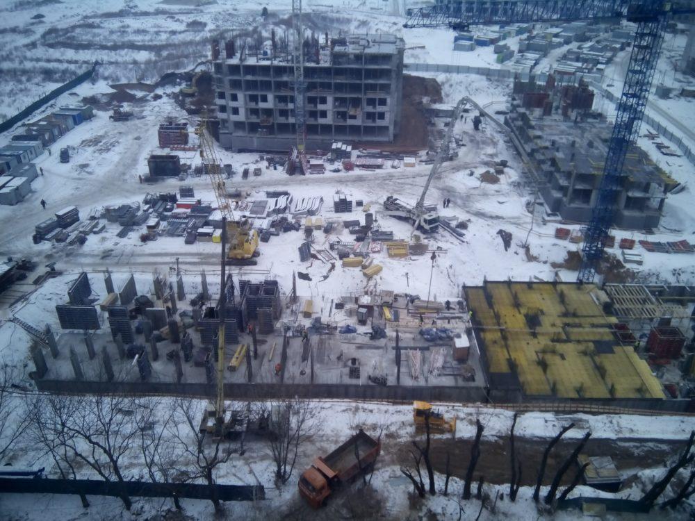Ход строительства ЖК 5 квартал 02.02.2017 (8)