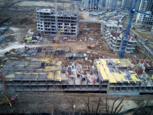 Дневник хода строительства ЖК