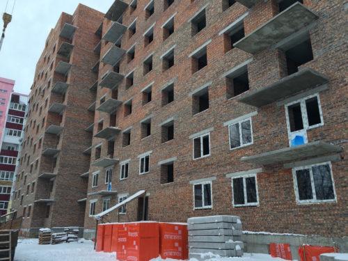 Будівництво «Будинку на Єськова» в Чернігові випереджає терміни