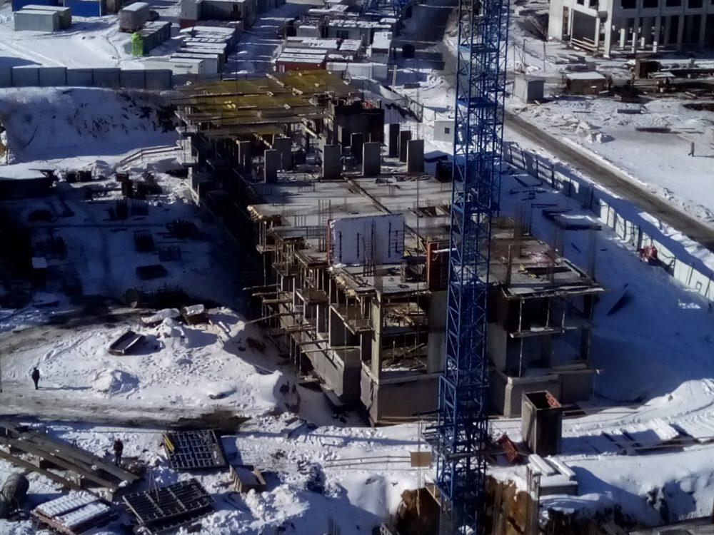 Ход строительства ЖК Пятый квартал16.02.2017 (1)