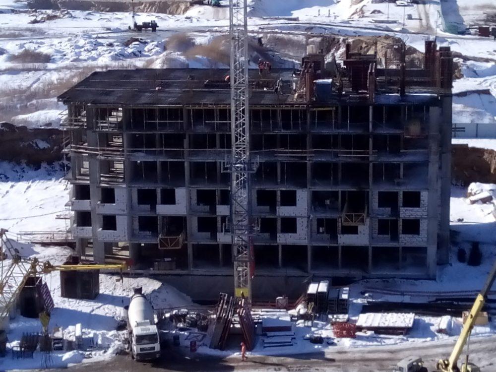 Ход строительства ЖК Пятый квартал16.02.2017 (3)