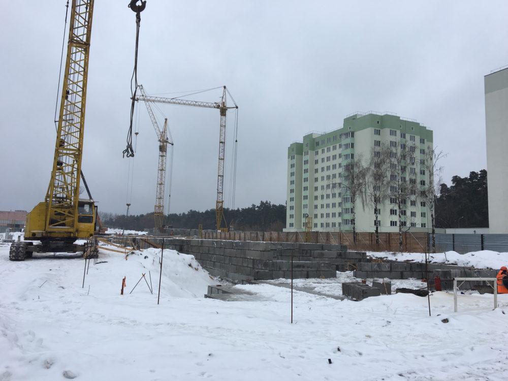 Ход строительства ЖК Вудстория 4.02.2017 (10)