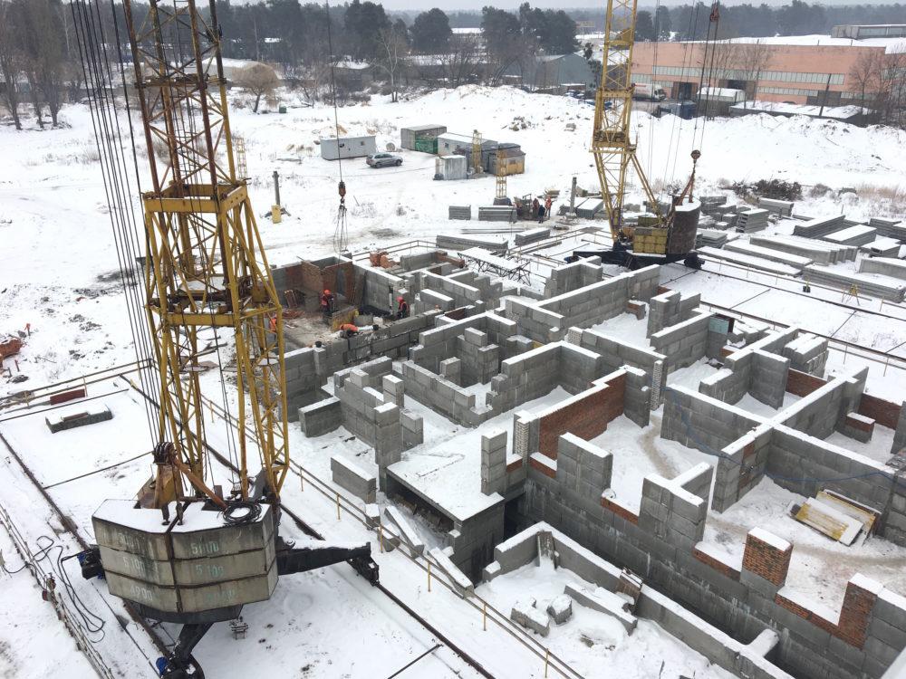 Ход строительства ЖК Вудстория 4.02.2017 (2)