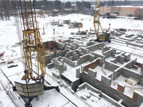 ЖК «Вудсторія»: щоденник будівництва. Лютий 2017