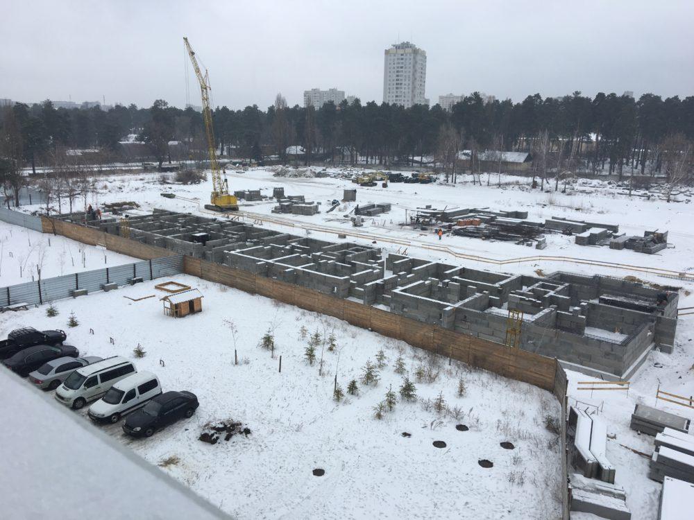 Ход строительства ЖК Вудстория 4.02.2017 (4)