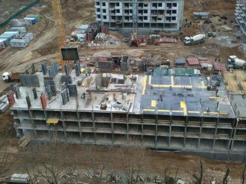Щоденник будівництва ЖК «5 квартал» від 18.03.2017