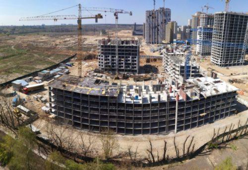 Дневник строительства ЖК «5 квартал» от 19.04.2017