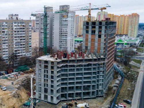 Дневник строительства ЖК «POLARIS» от 19.02.2021