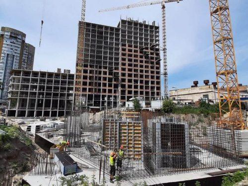 Щоденник будівництва Rusaniv Residence від 07.2021