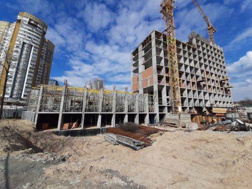 Щоденник будівництва Rusaniv Residence від 12.04.2021