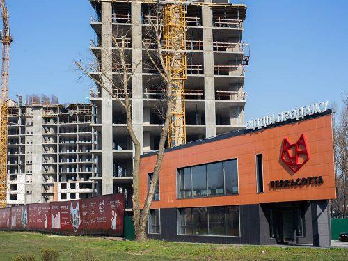 Щоденник будівництва ЖК «Теракот» від 06.04.2020