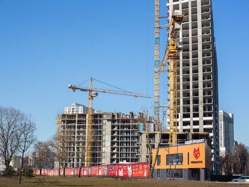 Щоденник будівництва ЖК «Теракот» від 24.02.2020