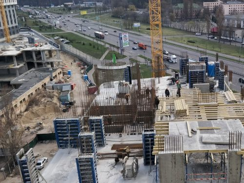 Информация о строительных работах на объектах