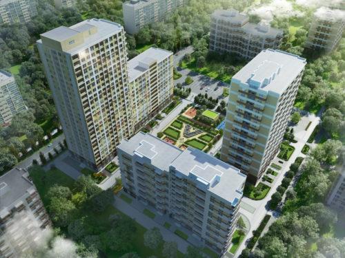 В ЖК «П'ятий квартал» створюється інфраструктура для комфортного життя