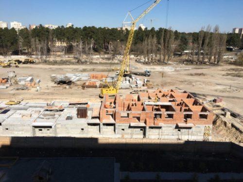 Щоденник будівництва ЖК «Вудсторія» 31.03.2017