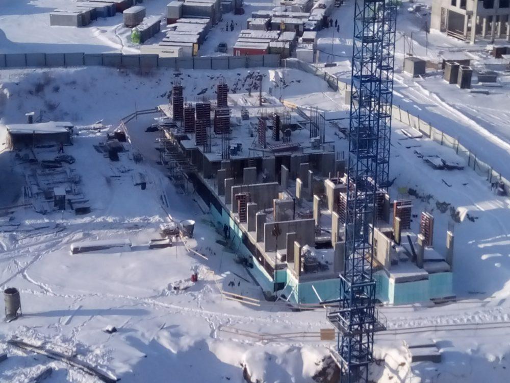 ЖК 5 квартал Ход строительства 12.01.2017 (3)