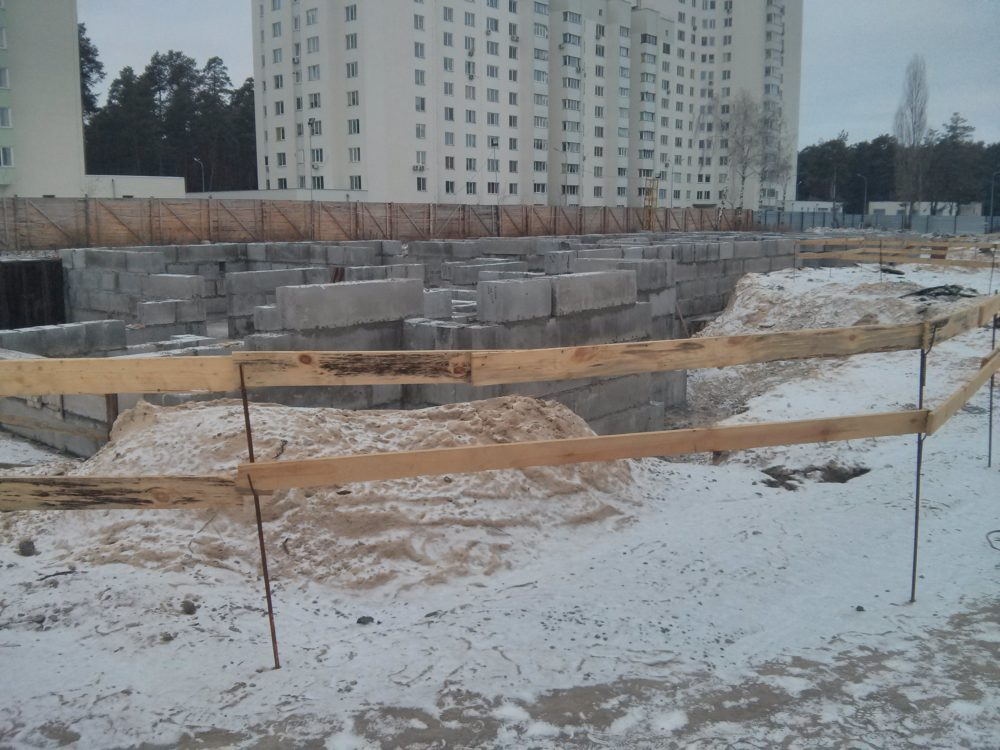 ЖК Вудстория. Ход строительства 31.12.2016 (3)