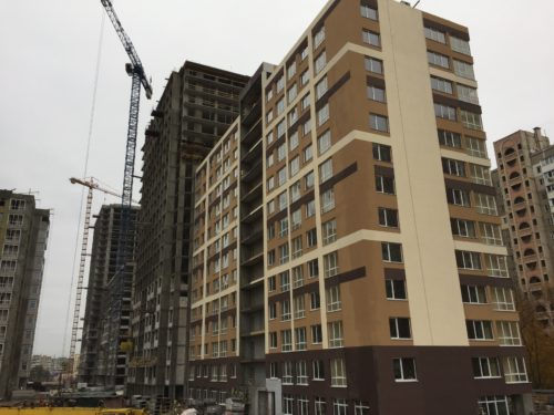 Щоденник будівництва ЖК «5 квартал» від 05.11.2017