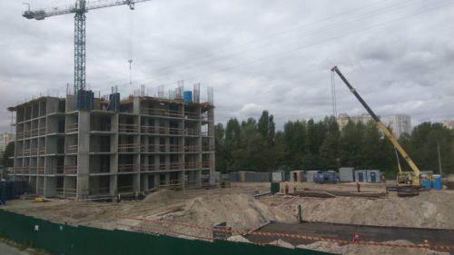 Щоденник будівництва ЖК «Лебединий» від 07.09.2017