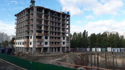 Щоденник будівництва ЖК «Лебединий» від 06.10.2017